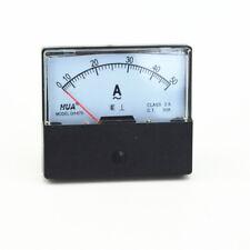 New AC 0-50A Analog Panel Meter Ammeter Gauge DH-670