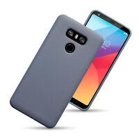 LG G6 Flexible Micro Shield Gel Case Cover High Density Bumper  Grey