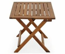 Deuba 100030 46x46x46cm Table de Jardin d'Appoint en Acacia