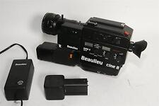 Beaulieu 9008 S cine 8 mit 1,4/6-70mm Optivaron neuwertig