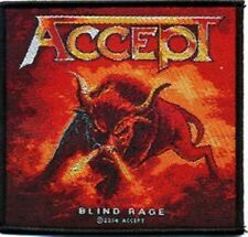 "Accept "" Blind Rage ""  Patch/Aufnäher 602462 #"