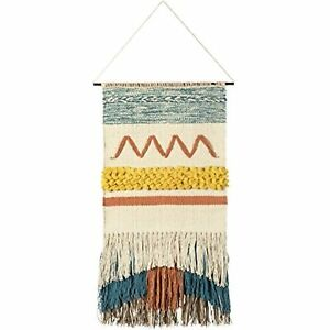 Primitives by Kathy Cotton Macrame Wall Hanging Free Spirit Boho Bohemian Style