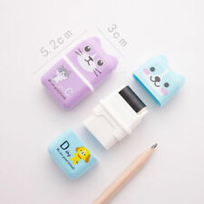 Hot Rolling Eraser Cartoon Roller Erasers Child School Stationery Random Color