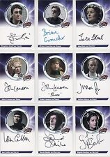 Blakes Blake's 7 Series 1 Rare 9 Card Common Auto Set