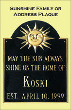 NEW PERSONALIZED SUNSHINE  WEDDING WELCOME ADDRESS SIGN