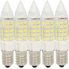 5x 5W E14 LED Energiesparlampe ,mit 44 SMD 2835 LEDs,350lm,Kaltweiß 6000K,350lm