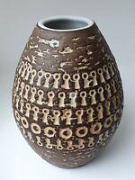 MARI SIMMULSON Vase Mexico 43130-17 Signed Orig Label Upsala Ekeby Sweden 1960's
