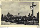 République Tchèque - cpa - PRAGUE - PRAHA - La Croix sur le pont