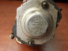 WH Westinghouse Ammeter Rotary Switch Assembly 505A701G01 600V 20A