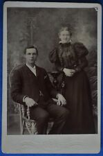 Cabinet Photo Young Couple Dark Clothes Miller Rochester New York NY