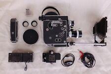BOLEX H16 REX-4 + 3 LENSES (SWITAR 16mm - SWITAR 25mm - YVAR 75mm) + accessories