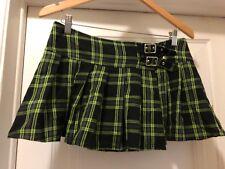 Lip Service Skirt Itti Bitti Plaid Miniskirt Sz L