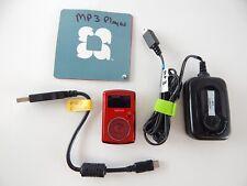 SanDisk Sansa Clip 2 GB Digital Media Music MP3 Player FM Radio Red BUNDLE