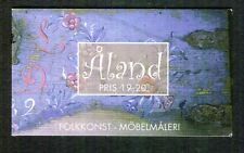 Aland 1999 Folk Art, Decorated Furniture, Complete Booklet, MNH/UM