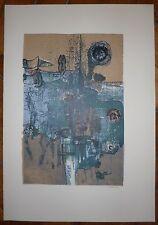 Vielfaure Jean-Pierre lithographie signée numérotée art abstrait abstraction