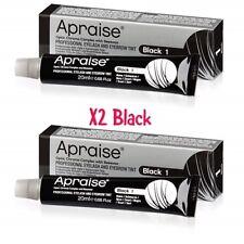 Apraise Black Eyebrow & Eyelash Tint x2 Tubes