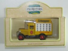 Lledo Promotional Chevrolet Delivery Van Truck SCHWEPPES REFRESHING yellow /L12