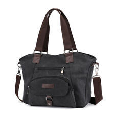 Women Canvas Tote Bags Lady Crossbody Messenger Bags Shoulder Hobo Bag Handbags