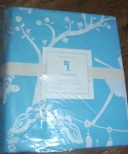 New POTTERY BARN KIDS Blue *CHINOISERIE* Full Queen 100% Cotton DUVET COVER
