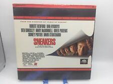 """Sneakers"" Letterbox Laserdisc LD - Robert Redford & Dan Aykroyd"