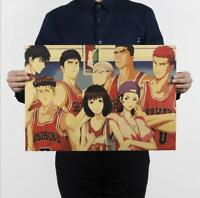 Bar decoration painting / classic animation kraft paper posters