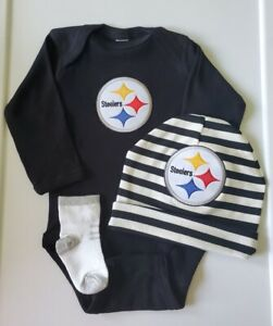 Steelers baby/newborn clothes Pittsburgh football baby Steelers baby gift