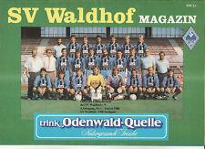 BL 86/87 SV Waldhof Mannheim - VfB Stuttgart
