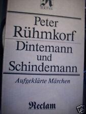 Rühmkorf Dintemann und Schindemann Märchen