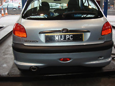 Peugeot 206 1.6 16V 109//110 HP Hatchback 2000-2005 Silencer Exhaust System F17