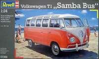 KIT REVELL 1:24 FURGONCINO VOLKSWAGEN T1 SAMBA BUS LUNGHEZZA 18,1 CM ART. 07399