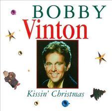 """BOBBY VINTON, CD """"KISSIN' CHRISTMAS"""" NEW SEALED"""