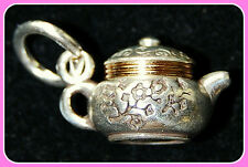 New BRIGHTON Chinese TEAPOT charm on your choice of attachment   FREE SHIPPING !
