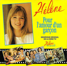TV OST HELENE ET LES GARCONS POUR L'AMOUR D'UN GARCON / A QUOI BON FRENCH 45