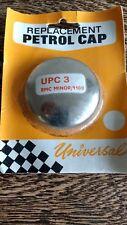 CLASSIC CHROME PETROL FUEL CAP UPC3 MORRIS MINOR 1000 1100 BMC MOWOG NON VENTED