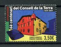 Spanish Andorra 2019 MNH Earth Council Consell de la Terra 1v Set Stamps