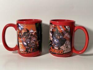 Set Of Two Zak Marvel Avengers Coffee/Tea Mugs