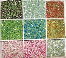 1440 Hot Fix Iron On Rhinestone/Round/Jewel/trim/10 Colors/SS6 2mm-Mix FREE CASE
