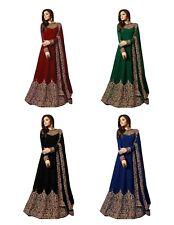 Indio Pakistan de Fiesta Diseñador Salwar Kameez Traje Boda Bollywood Vestido