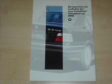 62162) BMW 318tds E36 Prospekt 02/1994