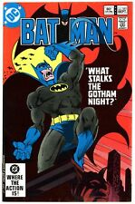 Batman (1940) #351 VF+ 8.5 Vampire Batman