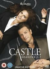 Castle Complete Season Series 1, 2, 3, 4, 5, 6 & 7 DVD box set New sealed 1 - 7