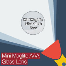 Mini Maglite Aaa Reemplazo Lente de vidrio transparente