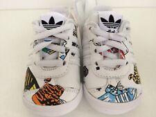 U.K. Size 2k Adidas Originals Jeremy Scott Infant Crib Shoes.trainers