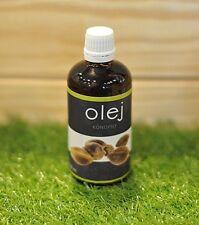 HEMP SEED OIL 100% Cold Pressed Unrefined, Organic, Pure 100ml OLEJ KONOPNY