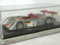 Audi R8 (2000) 1/43 Resin Model - Le Mans Cars Collection Vol.19 Hachette SPARK
