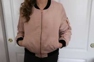"Woman's ""FOREVER 21"" Pink/Black FABULOUS Jacket size Medium"