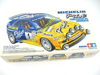 Discontinued Tamiya  1/24  FORD ESCORT RS COSWORTH  Michelin Rally Car KIi 24153