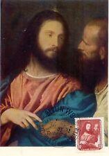 """DDR 1957, 20 Pf. """"Der Zinsgroschen"""" Gemälde von Tizian, ital. Maler, Gemälde MAX"""