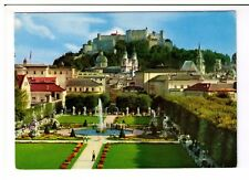 Postcard: Mirabell Garden - Cathedral -Salzburg - The City of Mozart - Austria