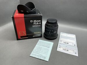 Sigma--17-35mm F2.8-4 Aspherical Wechsel-Objektiv / 4 L 900
